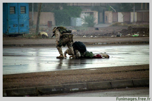 funimages image photo guerre iraq Fallujah humanité